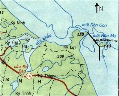 Một tiềm năng cảng lớn  nằm ở phía Nam cảng Vũng Áng.