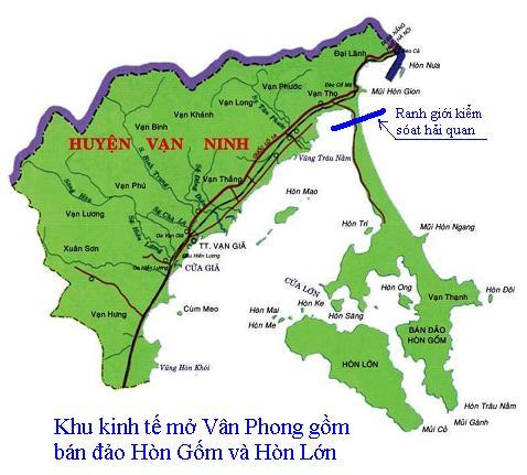 Ba giải pháp cứu vãn dự án Cảng trung chuyển quốc tế Vân Phong
