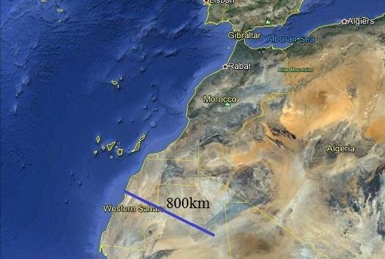 Giải pháp thay đổi khí hậu sa mạc Sahara và giảm nguy hiểm  việc dâng cao của nước biển.(The solution for changing the environment of Sahara desert and for reducing  the danger of the increasing of sea water level. )