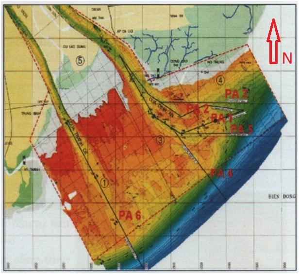 Vì sao cửa sông Trần Đề có tiềm năng lớn để xây dựng cảng biển ?