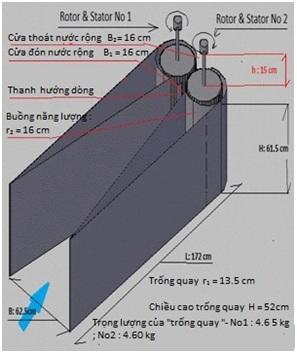 Mô hình tua-bin điện hải lưu ít ảnh hưởng đến thủy sản