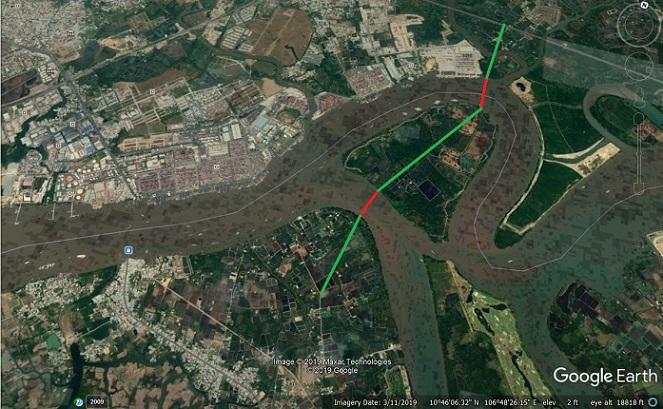 Cân nhắc chọn vị trí xây cầu vượt thay phà Cát Lái – Tp HCM